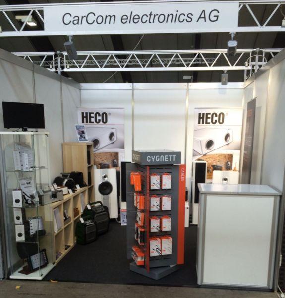 CarCom an der CE Trend-Show 2018 in Luzern - Distributor für Car Hifi, Mobile, Home Entertainment und Zubehör